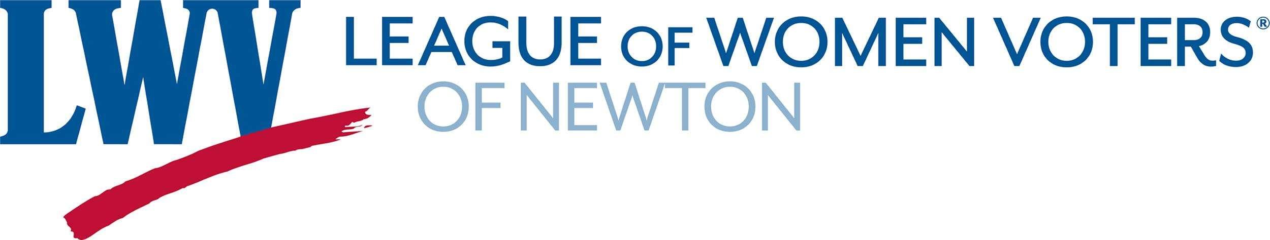 LWV Newton logo